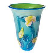 Zibo - Blue Gordonia Vase