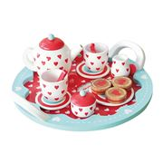 Indigo Jamm - Hearts Tea Set 10pce