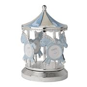 Gibson Baby - Merry-Go-Round Blue Musical Carousel