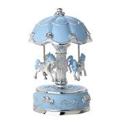 Gibson Baby - Small Light-Up Blue Musical Carousel