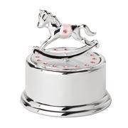 Gibson Baby - Rocking Horse Pink Musical Carousel