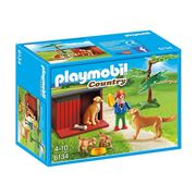 Playmobil - Country Life Golden Retrievers with Toy