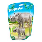 Playmobil - Rhino with Baby