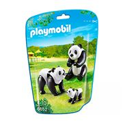 Playmobil - Panda Family 3pce