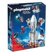 Playmobil - Space Rocket with Base Station Set 117pce