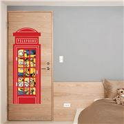 Imagicom - Minions Telephone Box Wall Decal