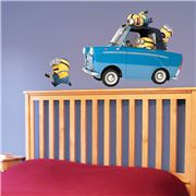 Imagicom - Minions Car Wall Decal