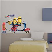 Imagicom - Minions Vespa Wall Decal