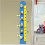 Imagicom - Minions Meter Height Chart Wall Decal
