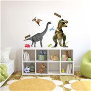 Imagicom - Sticky Iconz Dinosaurs Sheets 160x100cm