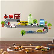 Imagicom - Wall Deco Traffic Sticker Sheet