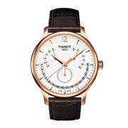 Tissot - Tradition Rosegold Perpetual Calendar w/Brown Strap