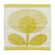 Orla Kiely - Speckled Flower Light Yellow Face Washer
