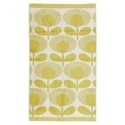 Orla Kiely - Speckled Flower Light Yellow Hand Towel
