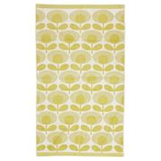 Orla Kiely - Speckled Flower Light Yellow Bath Towel