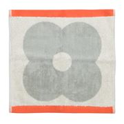 Orla Kiely - Spot Flower Light Granite Face Washer