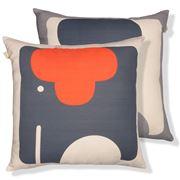 Orla Kiely - Elephant Tomato Cushion