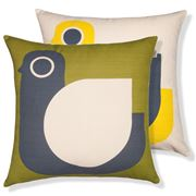 Orla Kiely - Hen Corn Yellow Cushion