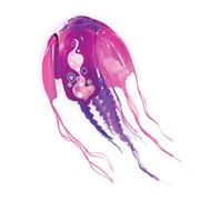 Zuru - Robo Pink Jellyfish with Play Set