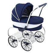 Valco Baby - Navy Princess Doll's Pram