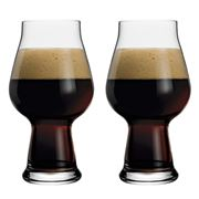 Luigi Bormioli - Birrateque Stout Beer Glass Set 2pce