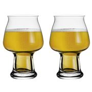 Luigi Bormioli - Birrateque Cider Glass Set 2pce