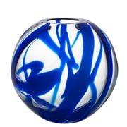Kosta Boda - Globe Vase Blue