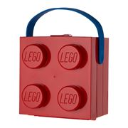 Lego - Red Lunch Box with Carry Handle