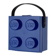 Lego - Blue Lunch Box with Carry Handle