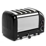 Dualit - NewGen Four Slice Toaster DU04 Black Gloss