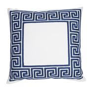 Hampton Collection - Maze Navy Cushion
