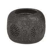 Papaya - Yasmin Small Votive Candle Holder 9cm