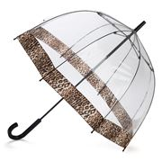 Clifton - Birdcage Umbrella Leopard Print