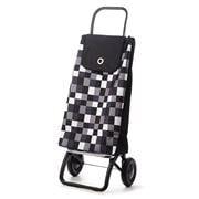 Rolser - I Max Dama Blanco Black Shopping Trolley