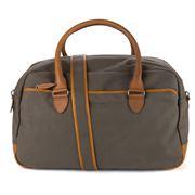 Sejr Copenhagen - Gorm Green & Cognac Canvas Sports Bag