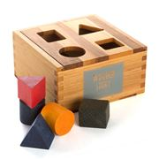 Wooden Story - Shape Sorting Box Set 9pce