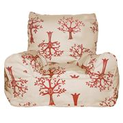 Lelbys - Red Orchard Bean Chair