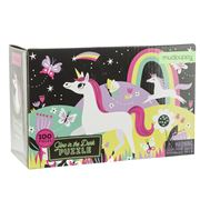 Mudpuppy - Glow in the Dark Unicorn Puzzle