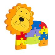 Orange Tree Toys - Lion Number Puzzle