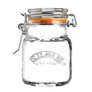 Kilner - Square Clip Top Spice Jar 70ml