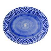Mateus - Bubbles Light Blue Oval Platter 35cm