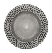 Mateus - Bubbles Grey Plate 28cm