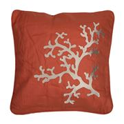 Serenk - Coral Dark Orange Cushion