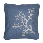 Serenk - Coral Blue Cushion