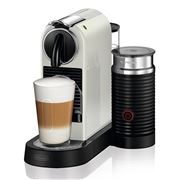 DeLonghi - Nespresso Citiz & Milk White Coffee Machine
