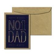 Candle Bark - No. 1 Dad Card