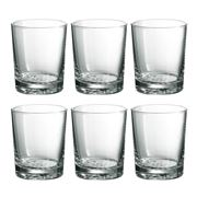 Durobor - Bowling Double Old Fashioned Tumbler Set 6pce