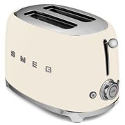 Smeg - 50's Retro Two-Slice Toaster TSF01 Cream