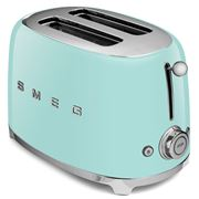 Smeg - 50's Retro Two-Slice Toaster TSF01 Pastel Green