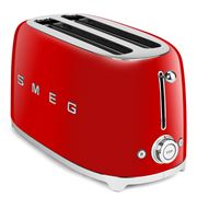 Smeg - 50's Retro Four-Slice Toaster TSF02 Red
